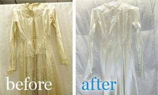 Wedding Gown Care